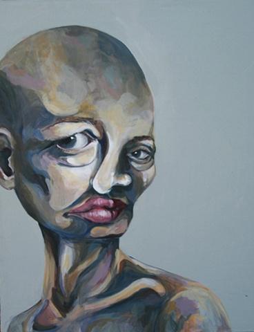 Self Portrait Distortion