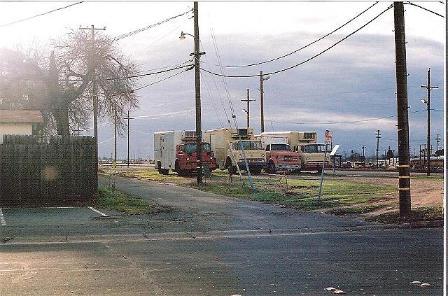 Milk Trucks, Roseville, C.A.