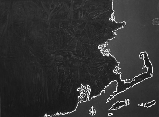 New England Noir, part of Visión Doble