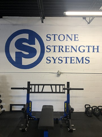 Stone Strength Systems logo, latex