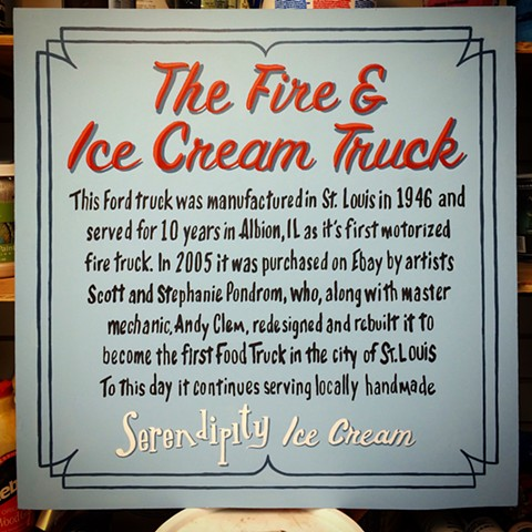 Fire & Ice Cream Truck History