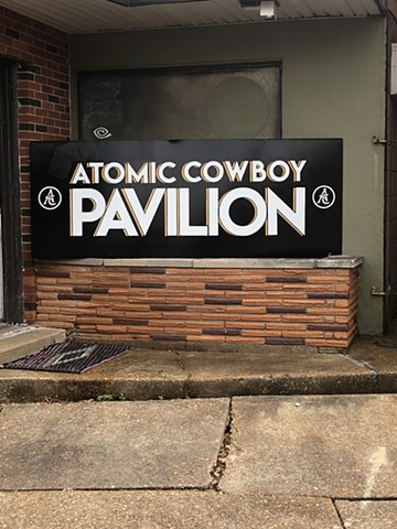 Atomic Cowboy Pavillion, One-Shot oil