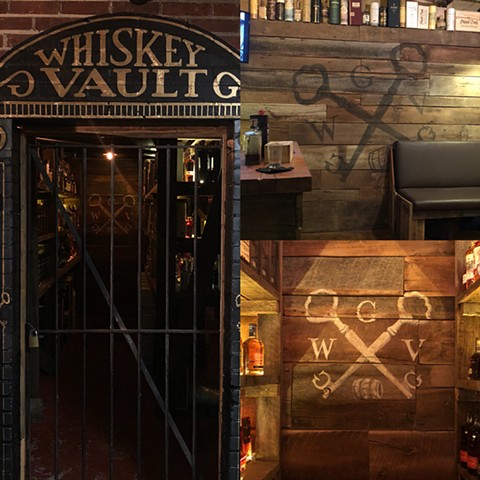 Whiskey Vault, latex