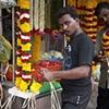 Flower Merchant, Little India, Simgapore