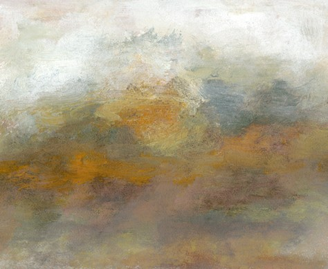 Landscape, abstract, quiet, soothing, muted