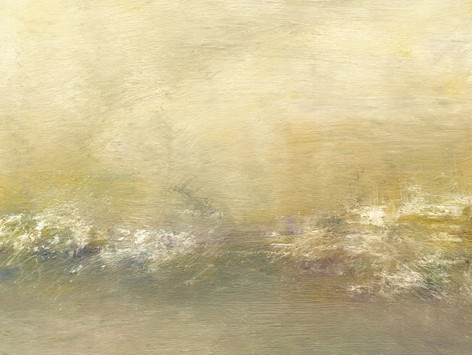Landscape, abstract, pastel, quiet, soothing, muted