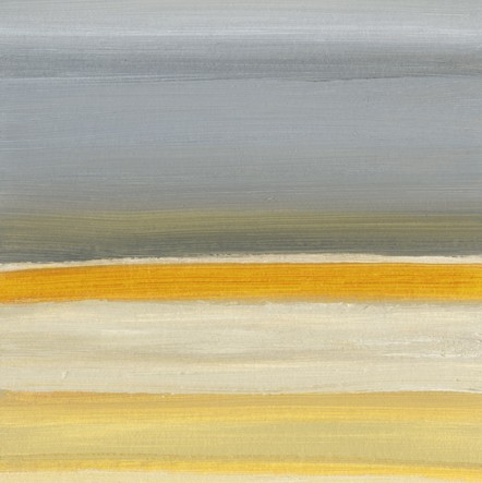 Abstract, warm gray, soft yellow and white