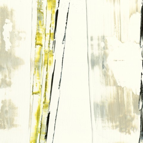 Abstract, linear, white, acid green, black