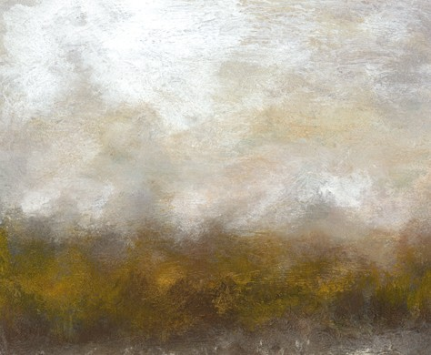 Landscape, abstract, quiet, soothing, muted, rich color