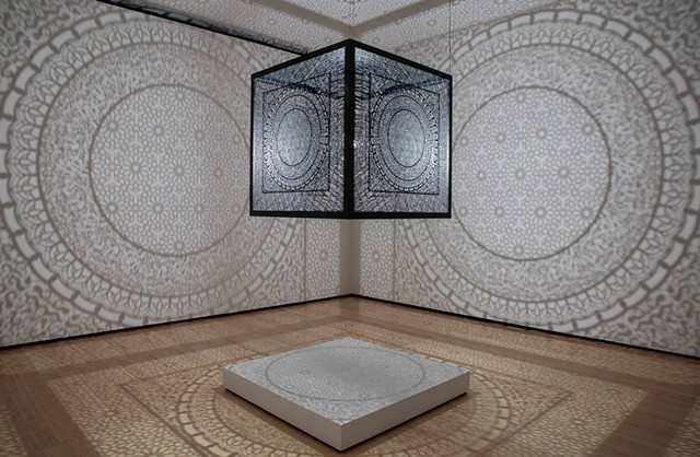 Lucid Dreams and Distant Visions, Asia Society artists Anila Quayyum Agha