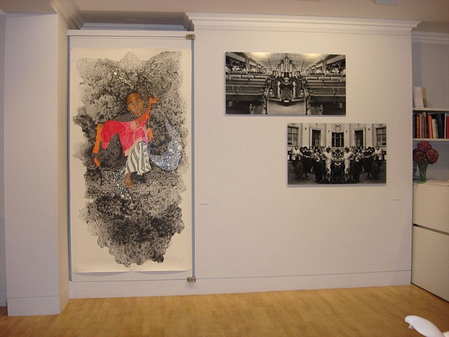 Installation view of Anomalies, Rossi and Rossi London, UK