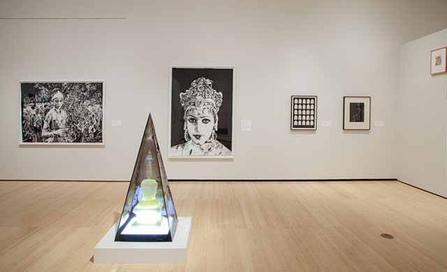 Lucid Dreams and Distant Visions, Asia Society artists Chitra Ganesh, Zarina, Palden Weinreb