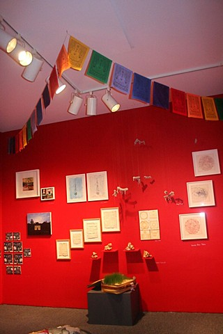 Installation images of Her Stories at QMA