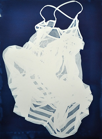 Photogram, Cyanotype