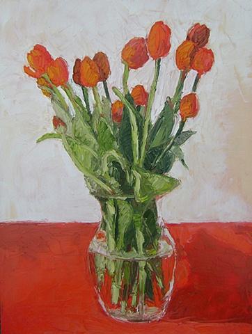 Orange Tulips #1