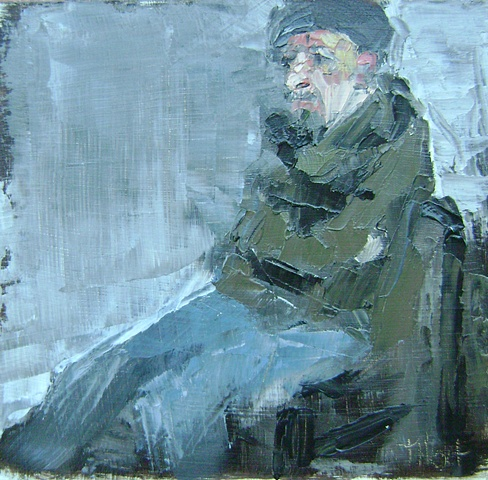 Study for Man in a Beret