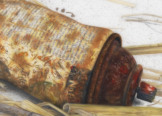 Detail from: Rusted Spray Can