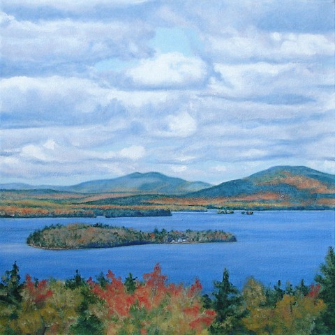 Rangeley Lake October print