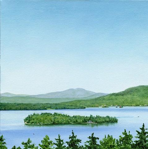 Rangeley Lake June Print