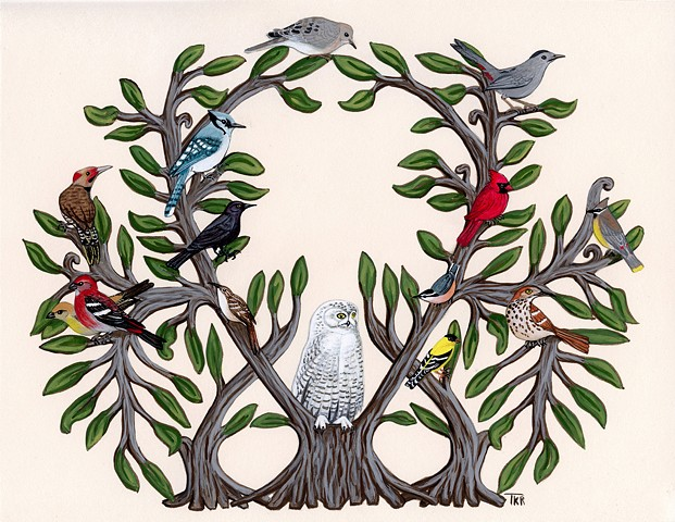Tree of Bird Life