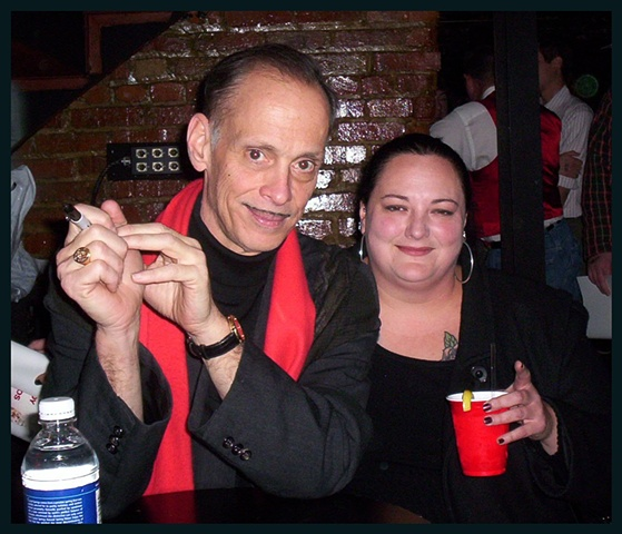 me with John Waters!