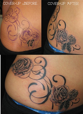 cover up with roses