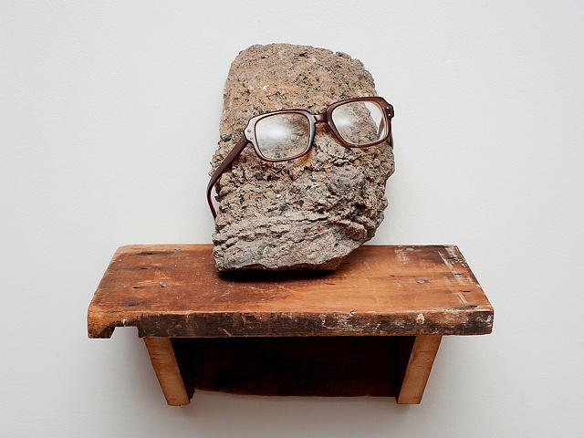 Rock Head, sculpture by David Bodhi Boylan Artist