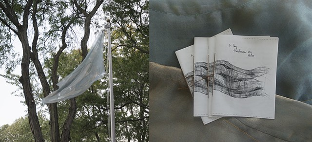 Zine: A Flag Transformed Into Water