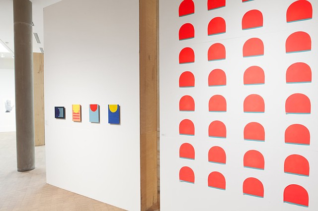 Grinnell Faculty Studio Exhibition (Installation view)