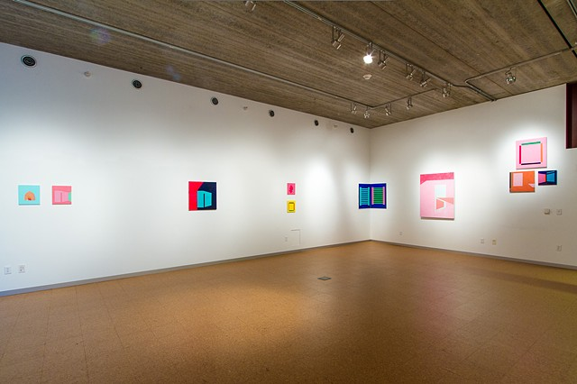 Cataloguing Space (Installation View)