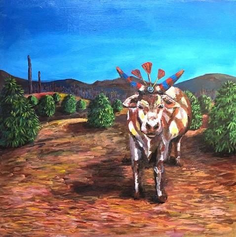 Calaveras Cow