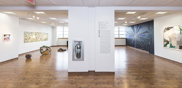 Installation view of Supergiant at Casita Maria Center for the Arts and Education, Bronx, NY