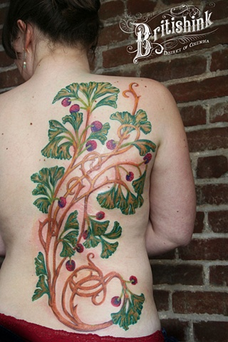 Ginkgo Back Piece