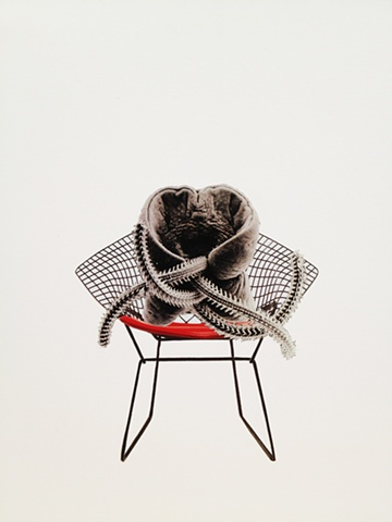brian zimmerman, bryan zimmerman, art, artist, collage, chair