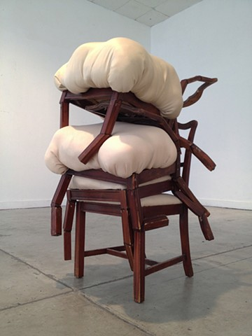 brian zimmerman, bryan, art, wood, sculpture, ucsd, las vegas, st. louis, webster, university, collage, chairs, beam, skinny