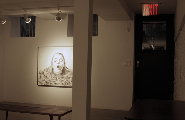 Breath 2011 Exhibition at Yes Gallery. Greenpoint, Brooklyn.