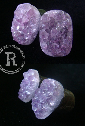 "1/2"" Rough Amethyst Slinkees"