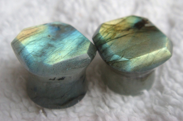 "5/8"" Faceted Labradorite"