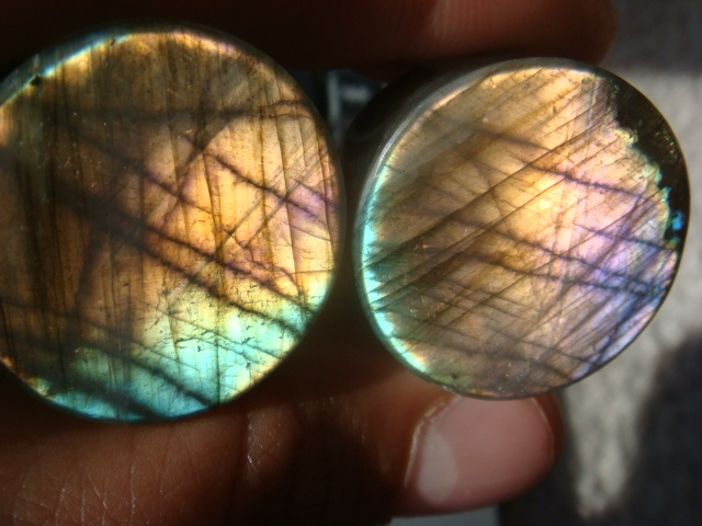 "7/8"" Purple Labradorite"
