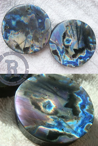 "1 3/4"" Purple Spectralite"