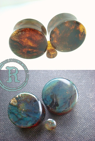 "3/4"" Green Amber with 4g Single"