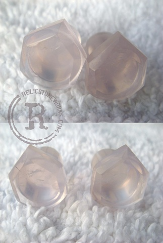 0g Lavender Quartz Diamond Drops