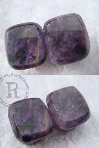 "7/16"" Charoite Facets"