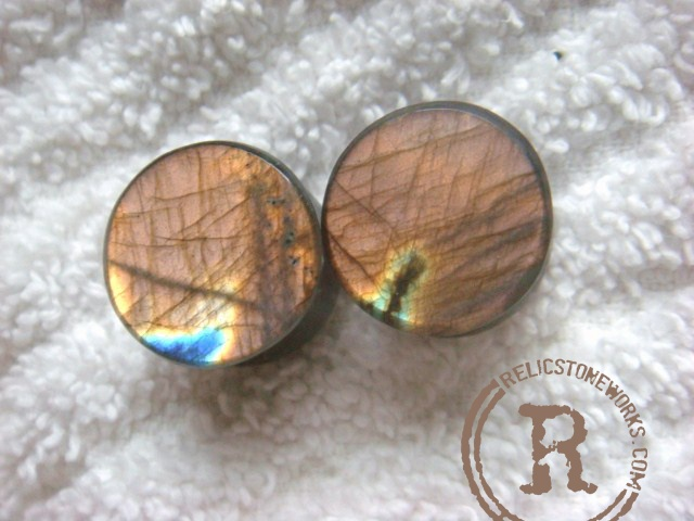 "1/2"" Copper Labradorite"
