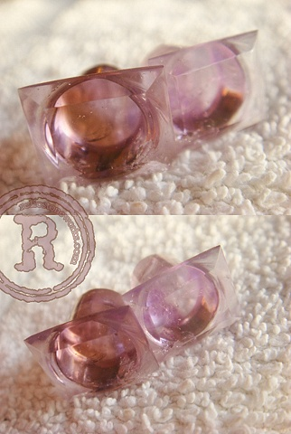 00g Ametrine Faceted Single Flares