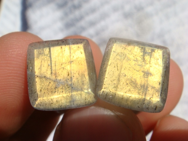 00g Gold Labradorite Facets SF