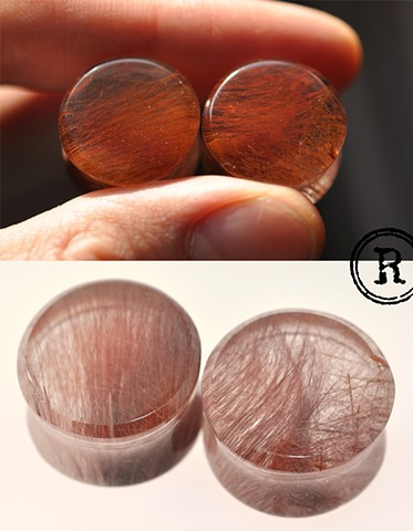 "3/4"" RED Rutilated Quartz"