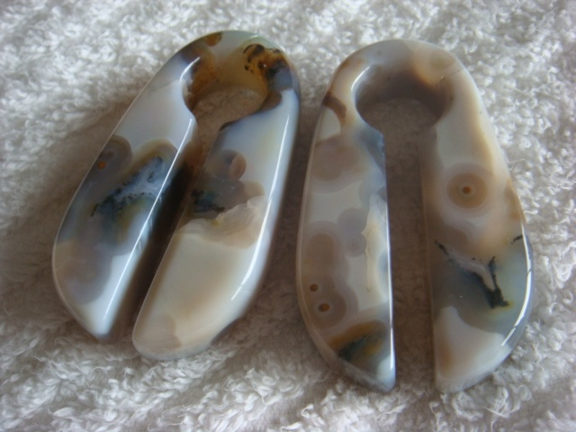 White Ocean Jasper Weights