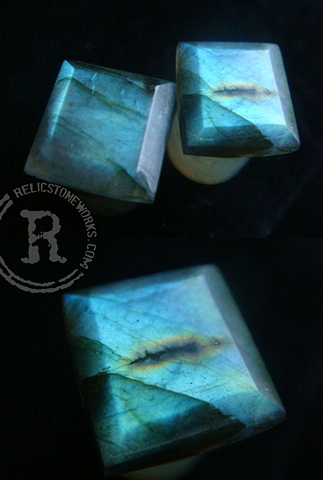 00g Teal Labradorite Facets