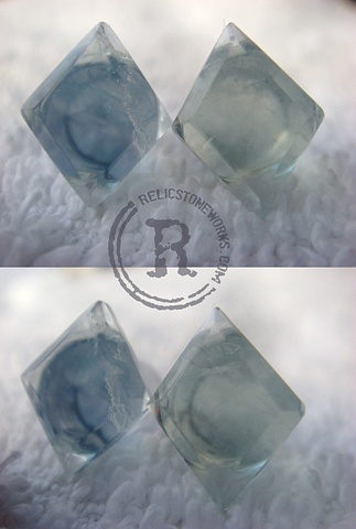 0g Fluorite Diamonds
